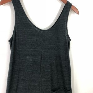 55aa6e4cfb5 American Apparel Other - American Apparel Gray Pocket Playsuit Romper LARGE